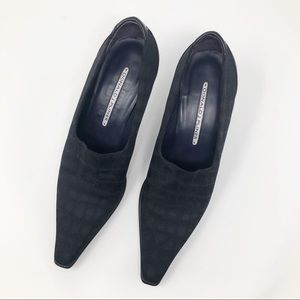 Donald J. Pliner Shoes - DONALD J PLINER LACIA BLACK PUMPS